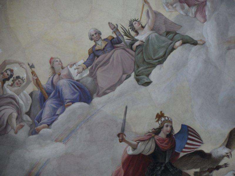 The Apotheosis of Washington, Capitol, Washington, DC