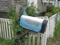 Mailbox in Nantucket, Massachusetts