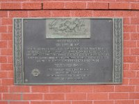 Plaque Commemorating the Boston Tea Party, Boston, Massachusetts