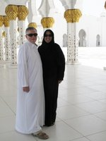 In the Grand Mosque