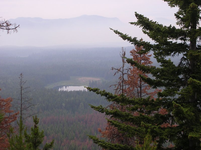 View from Pyramid Mountain