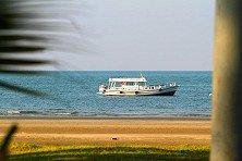 Suka Layar's charterboat outside Tanjung Resang