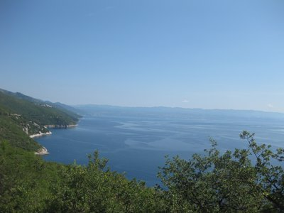 View over to the Islands off Plomin