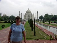 Proof that I was at the Taj Mahal