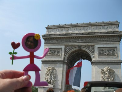 Immy has always wanted to go to France and heres her opportunity!