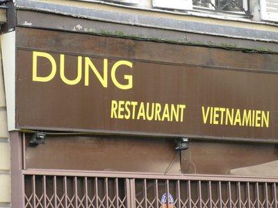 Cuisine in Paris!!! Ha!