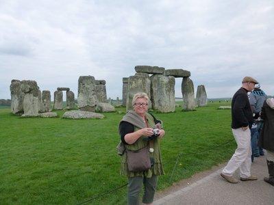 Moy at Stonehenge.......