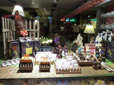 Belgian chocolate Easter