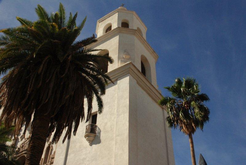 Church bell tower, Tuscon, AZ