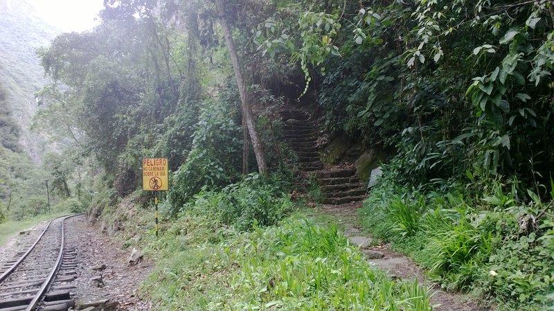 The Trail Head to Putucusi