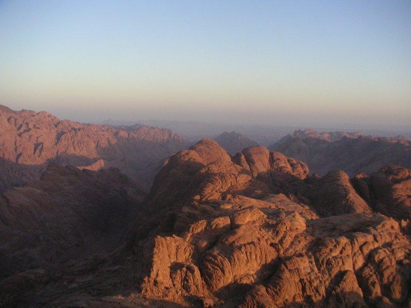 Dawn at Mount Sinai