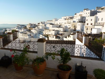 Vejer de la Frontera - View from Hotel Terrace
