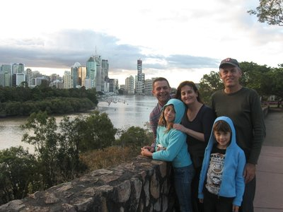 Inner-city walks with Aunty Jenny and Uncle Greg. Kangaroo Point is a popular spot for abseiling or getting wedding photos taken, usually not at the same time!