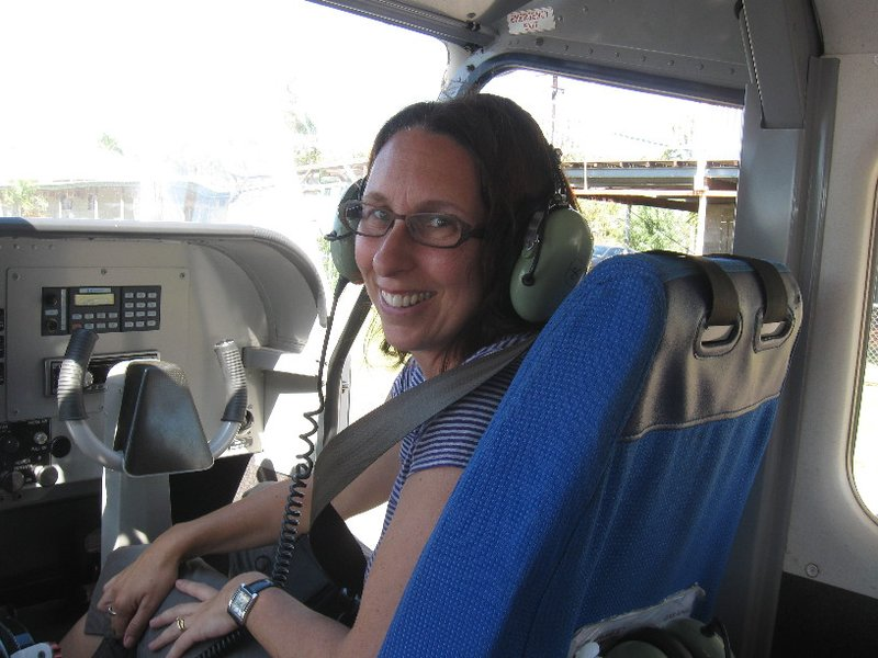 Ready for joyflight over Kakadu. Co-pilot's seat. Fab views over the Arnhem Land escarpment!