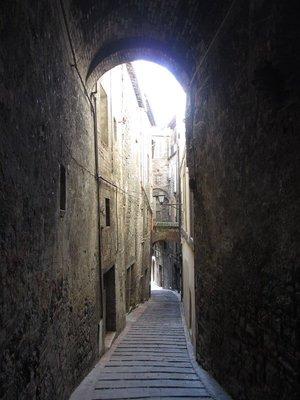 Quiet side street