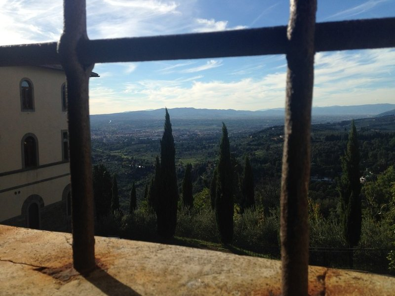 Tuscan view from Missionary Museum