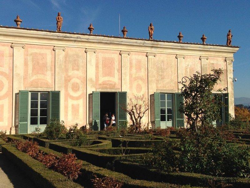 Rose Garden/Porcelain Museum, Boboli Gardens