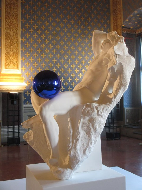 Gazing Ball, Jeff Koons