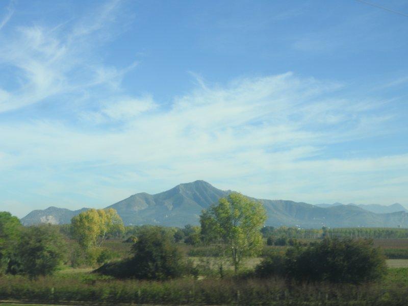 Mt Vesuvius on way to Naples