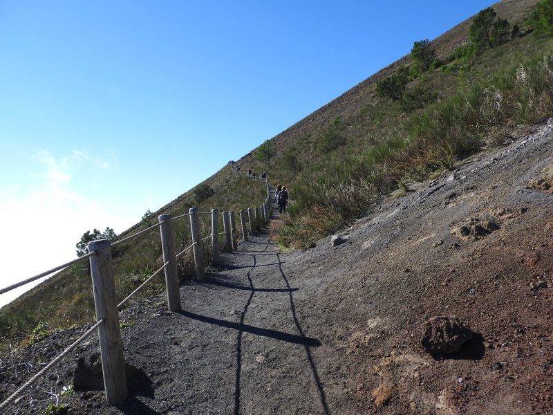 Track to Vesuvius Crater