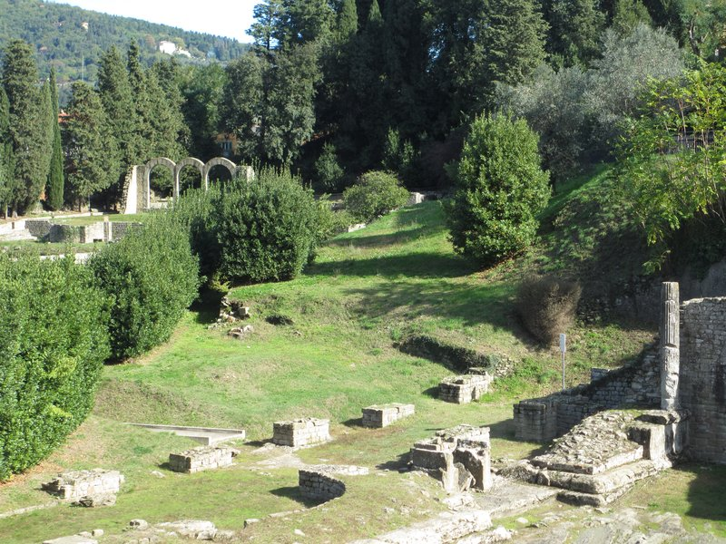 Archeological area, Fiesole