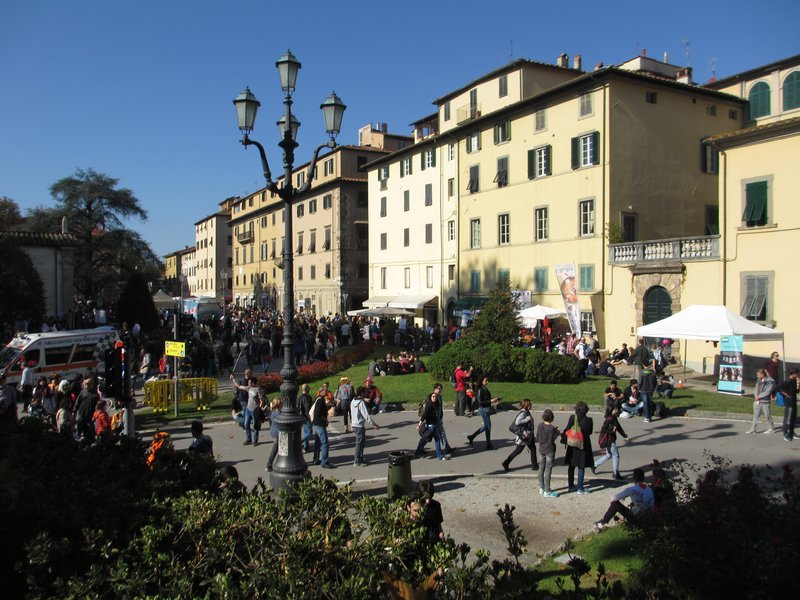 Lucca from city wall