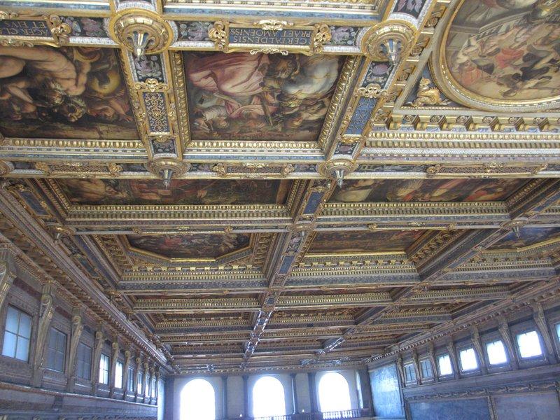 Ceiling, Palazzo Vecchio