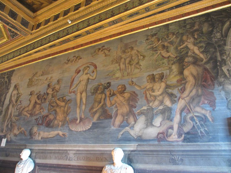 Wall painting, Palazzo Vecchio