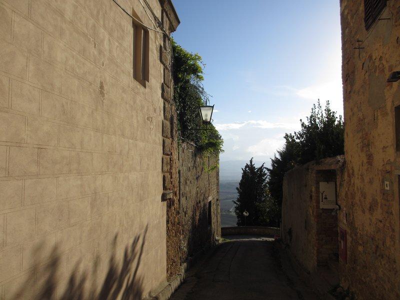 Pienza street view