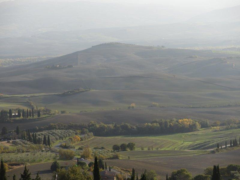 View at Pienza