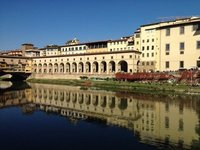 Across the Arno to Florence rowing club