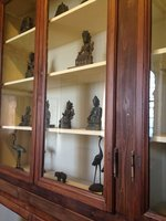 Case of Buddha statues, Missionary Museum