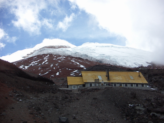 Nearing the refugio, Cotopaxi