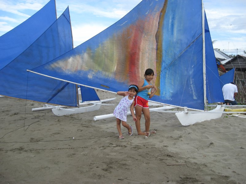 paraw regatta sailboats