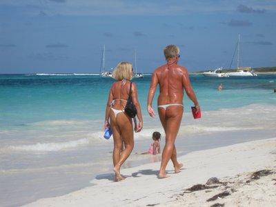 St Maarten, SXM - Island Tour - Part 1 - Orient Beach