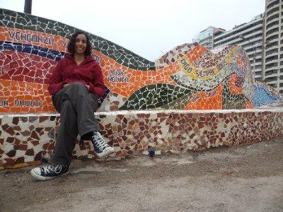 Lima - Mosaic-bench in Miraflores (2)