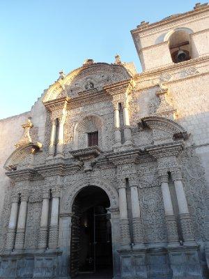 Arequipa - Jesuit Iglesia de La Compania