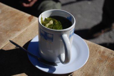 Colca Canyon - Coca Tea