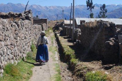 Colca Canyon - A local from Cabanaconde