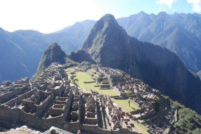 Machu Picchu - View from below the Caretaker's Hut