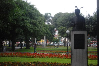 Lima - Park Kennedy in Miraflores