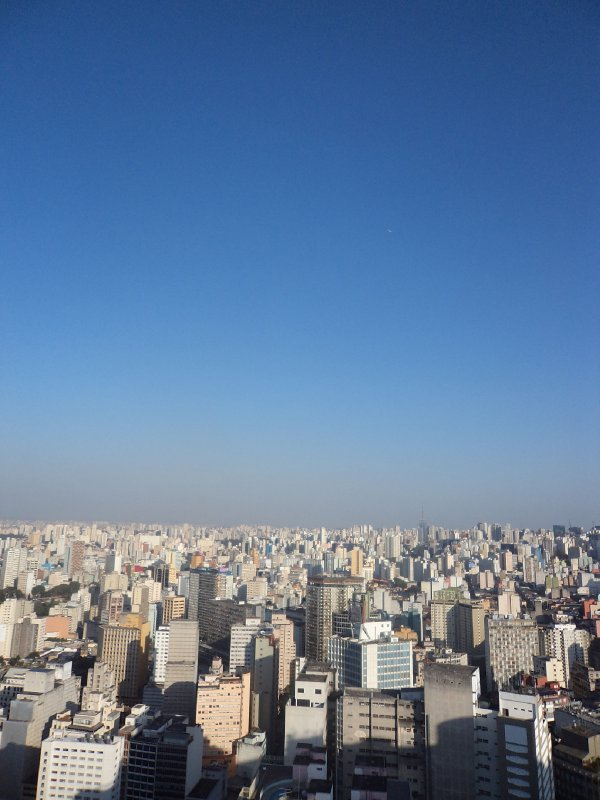 Sao Paulo - View from Edifico Italiano building (1)