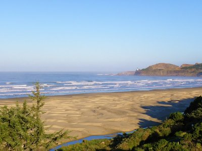 Sunrise on Oregon Coast