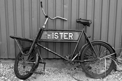Old bike @ habour