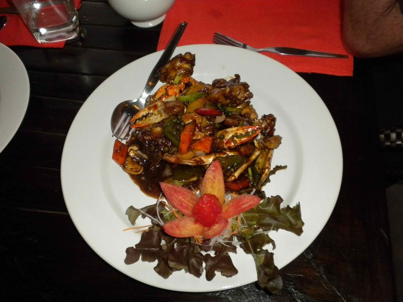 Hot Pepper Crab, not for the faint hearted