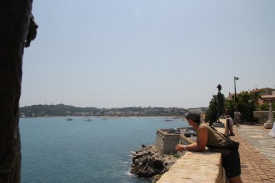 Spectacular views from Picasso Museum, Antibes