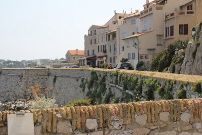 Antibes waterfront by Picasso Museum