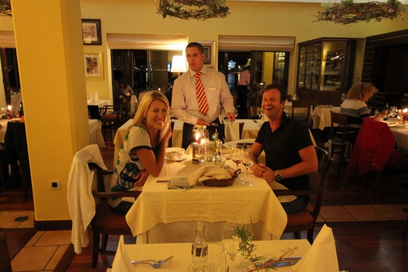 Dinner at Konat Restaurant in Zadar: amazing food, service and atmosphere!