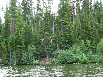 Our Remote Cabin...