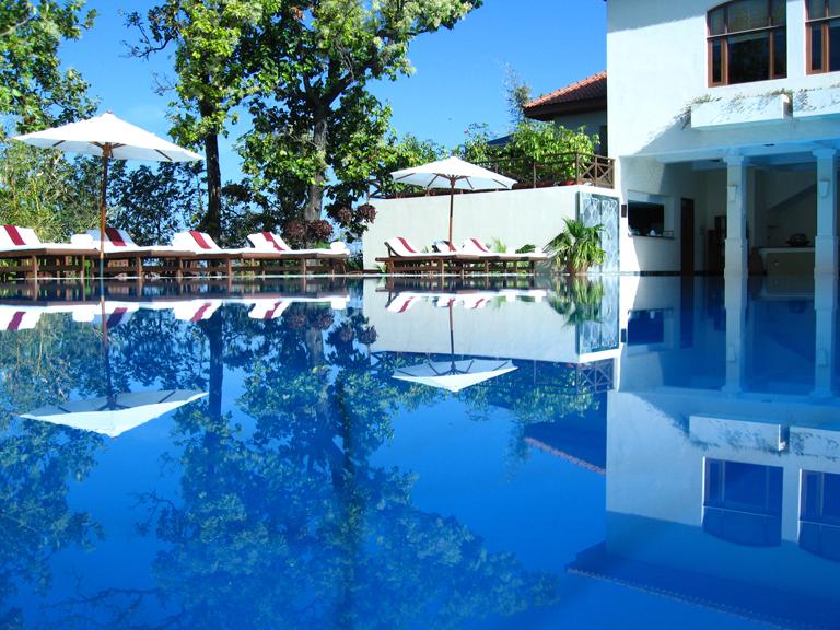 ...blue pool ..